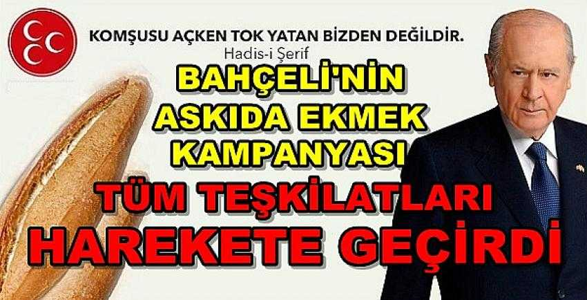 MHP Lideri Bahçeli'den Askıda Ekmek Kampanyası